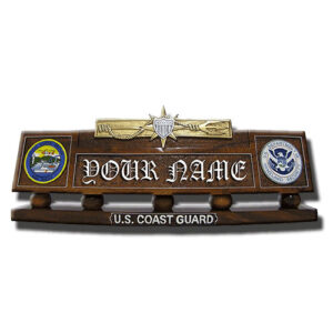 Marine Safety Desk Name Plate