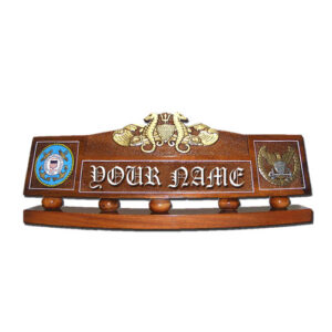 USCG Port Security Warfare Officer Desk Nameplate