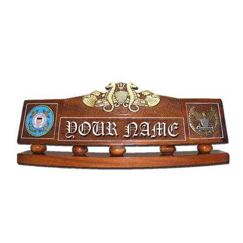 Port Security Warfare Officer Desk Name Plate