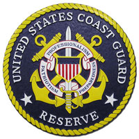 Coast Guard Reserve Seal Plaque