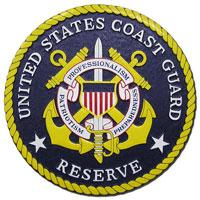 Coast Guard Reserve Seal Plaque
