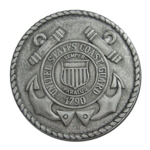Coast Guard Seal Silver Plaque