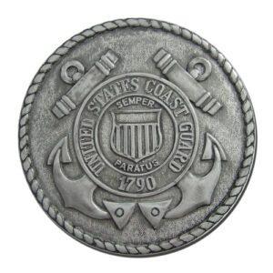 Coast Guard Seal Silver Plaque