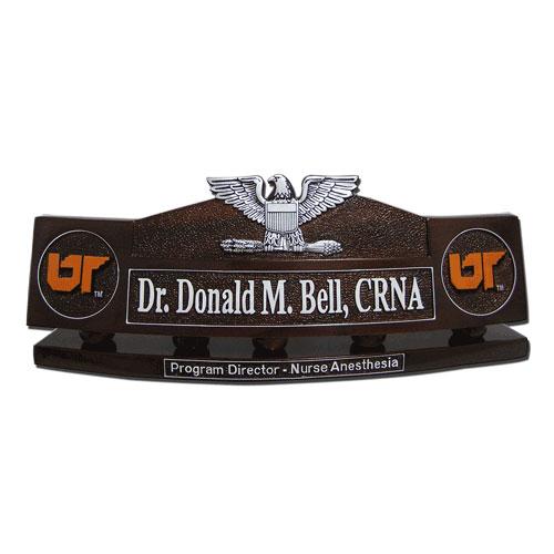 Navy Captain Desk Name Plate