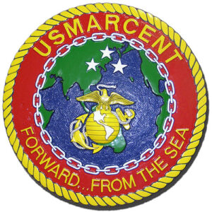 USMC Central Command (MARCENT) Seal Plaque