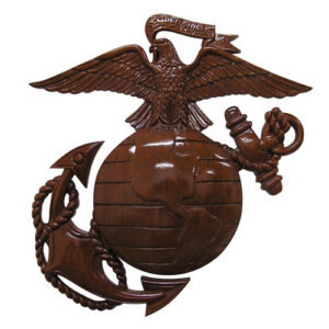 US Marine Corps Eagle and Globe Plaque
