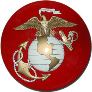 USMC Eagle and Globe Anchor Seal