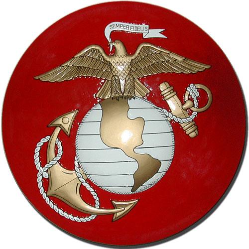USMC Eagle and Globe Anchor Seal