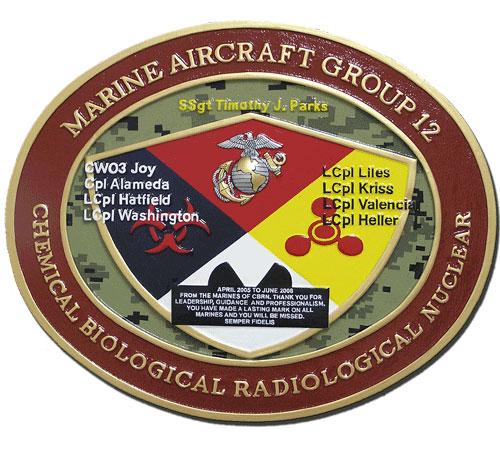 USMC Aircraft Group 12 Emblem