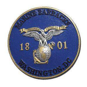 USMC Marine Barracks WA Seal