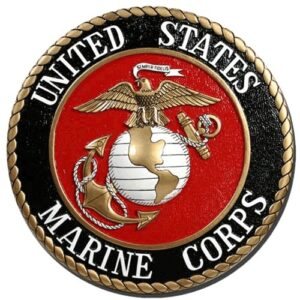 Marine Corps Seal Plaque