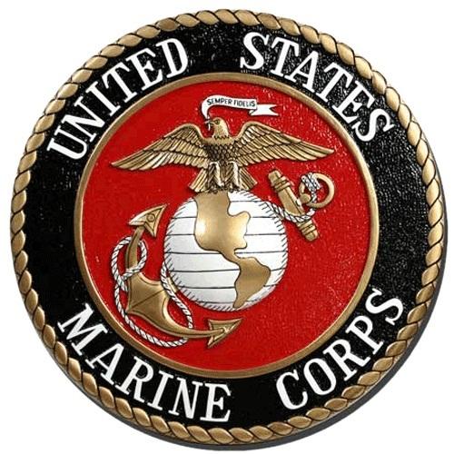 Marine Corps Seal Plaque
