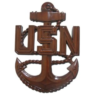 CPO E7 Anchor Plaque