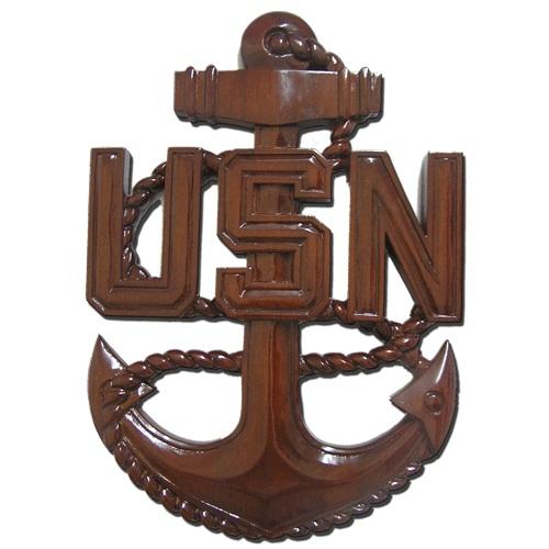 CPO E7 Anchor Plaque