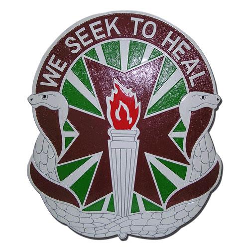 We Seek To Heal Emblem