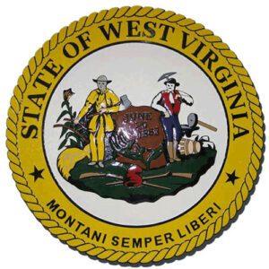 West Virginia State Seal Plaque