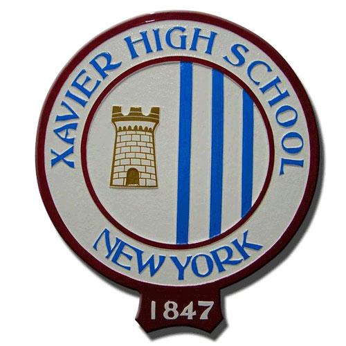 Xavier High School NY Emlem