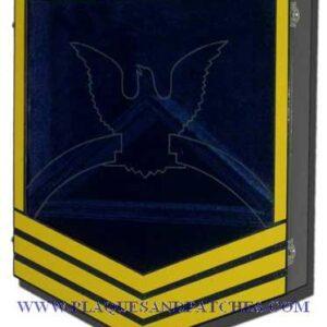 Coast Guard E-7 Retirement Shadow Box