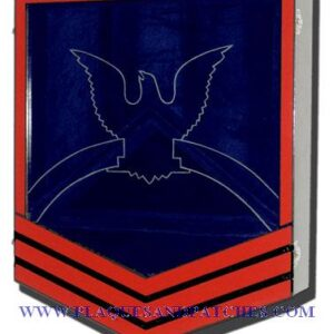 Navy E-7 Retirement Shadow Box