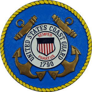 Coast Guard Seal Plaque