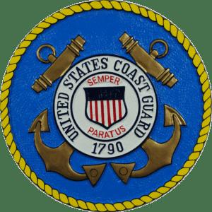 Coast Guard Seal Plaque